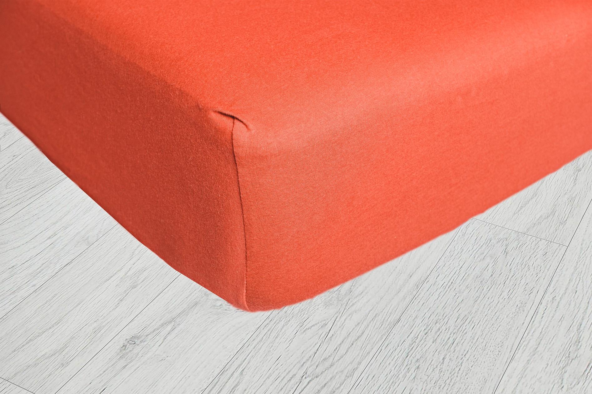 Plachty jersey - Oranžová