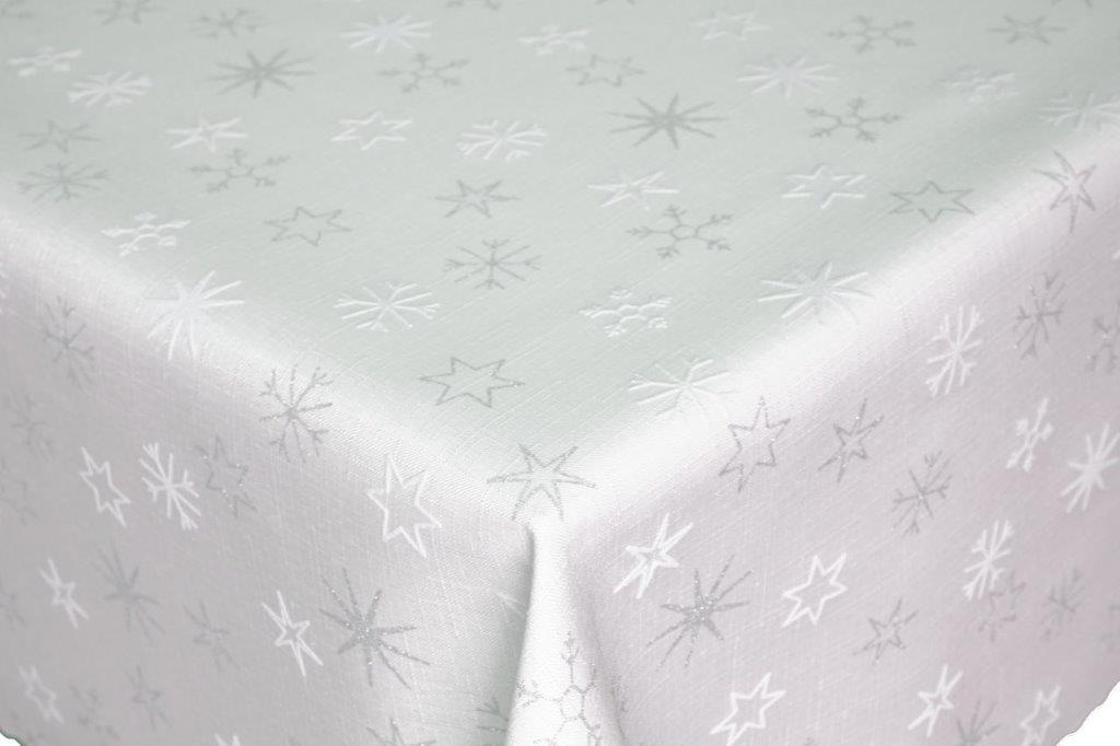 Vianočný obrus - Hviezdy