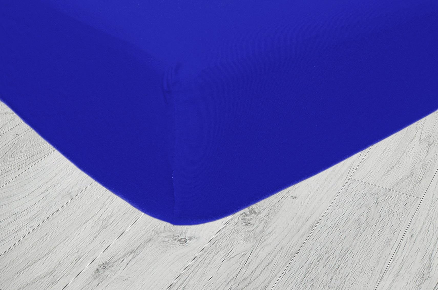 Plachty jersey - Tmavá modrá