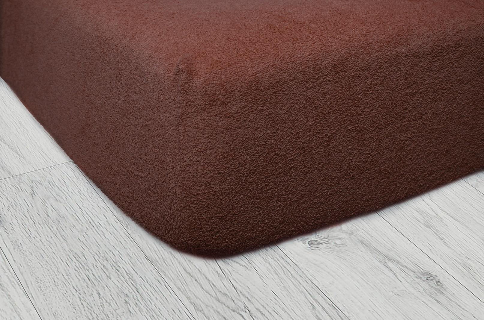 Plachty frote - Čokoládová