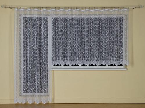 Záclona hotová 2930 krémová a biela