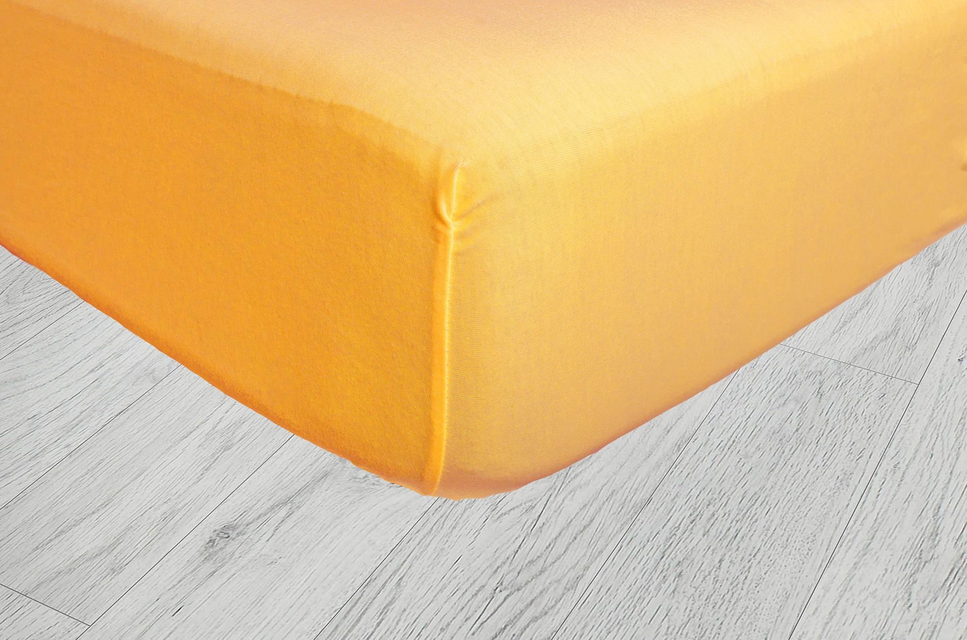 Plachty jersey - Svetlá oranžová