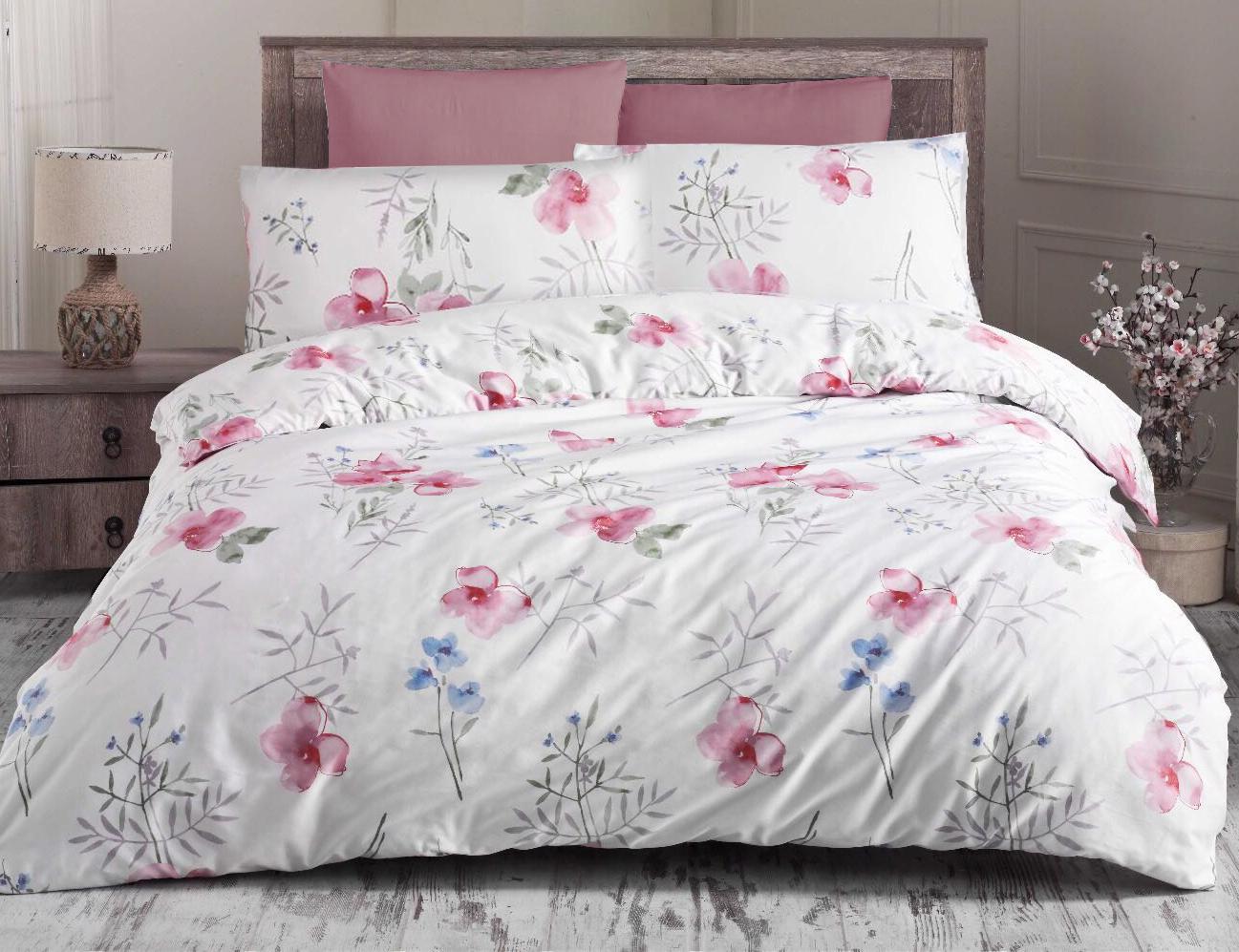 Obliečka - Blomster pink