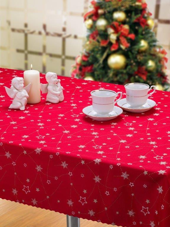 Obrus vianočný hvezdy 2
