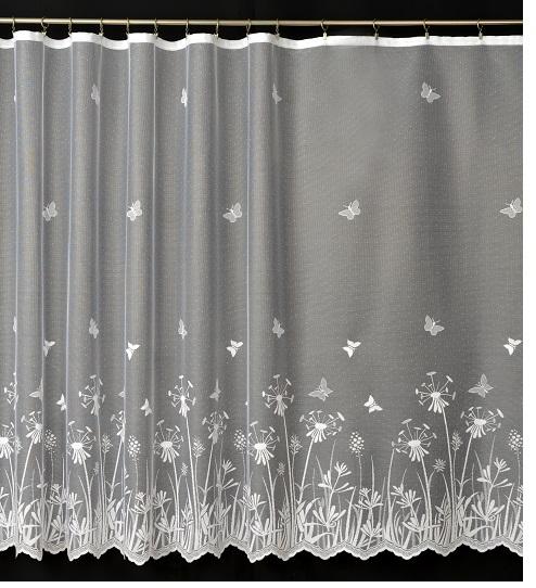 Záclona 4098 biela