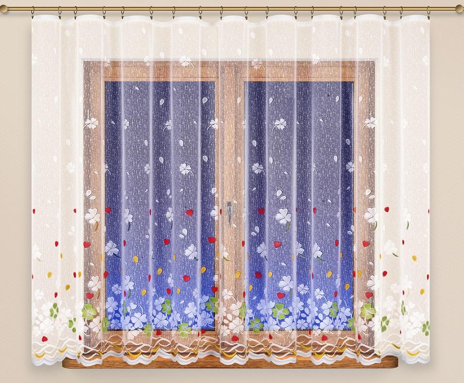 Záclona 4529 farebná