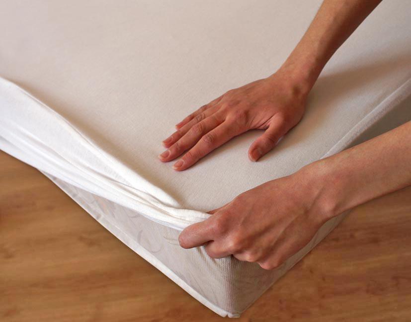 Ochraná plachta bavlna - biela