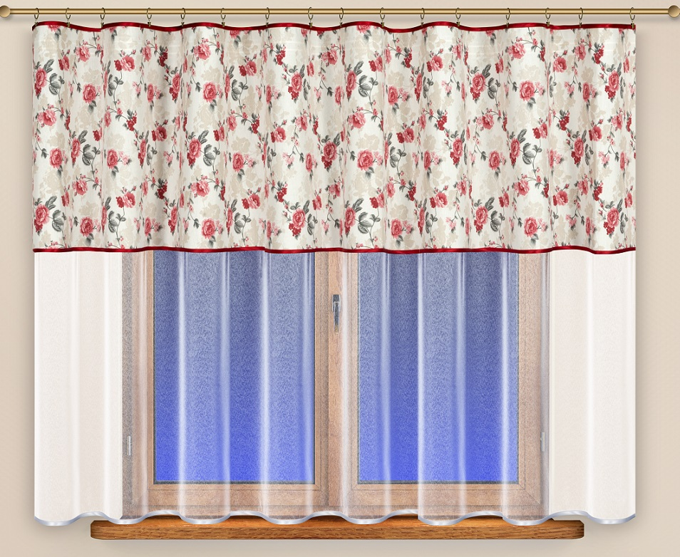 Záclona hotová Nora