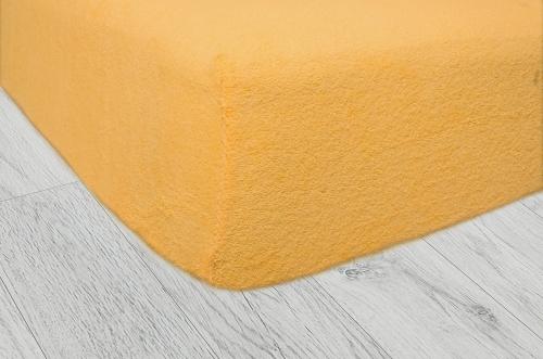 Plachty frote - Tmavo žltá