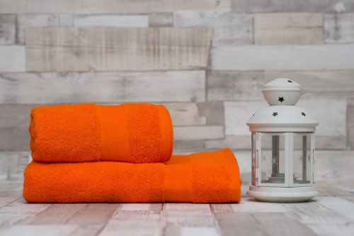 Uteráky a osušky klasic oranžová 17