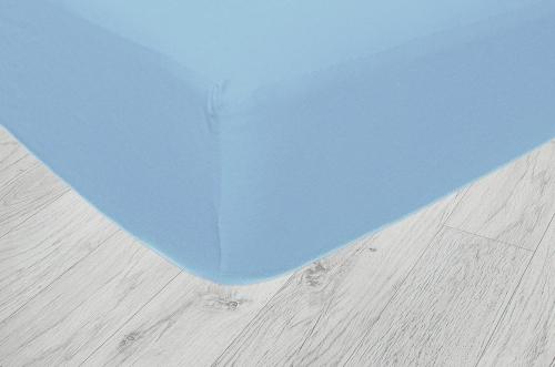 Plachty jersey- Svetlo modrá