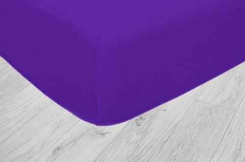 Plachty jersey - Tmavo fialová