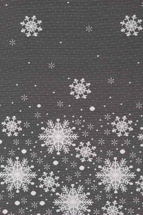 Vianočná záclona - 4537