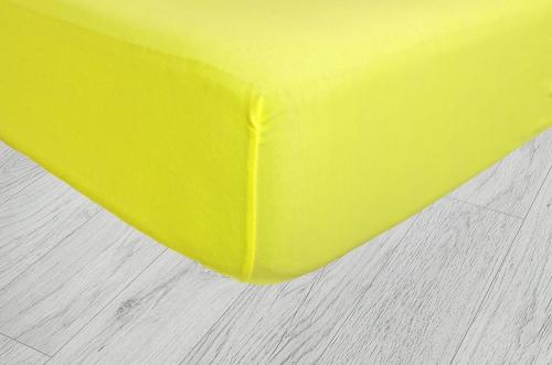 Plachty jersey - Citronová