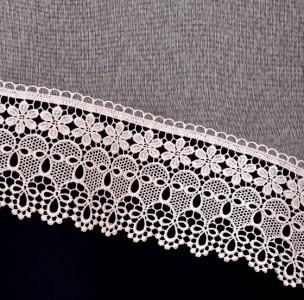 Hotová záclona NATALI biela aj v krémovej farbe