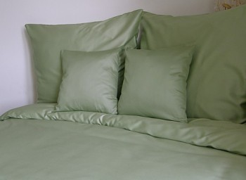 Obliečka olivovo zelená