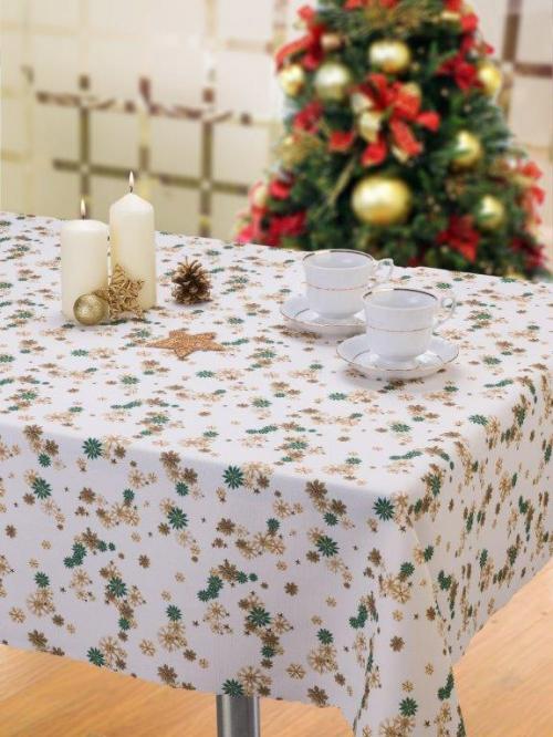 Obrus vianočný sláma 2