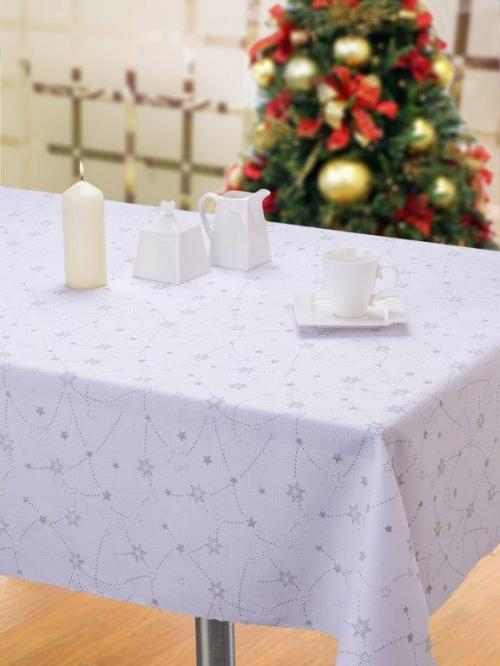 Obrus vianočný hvezdy 1