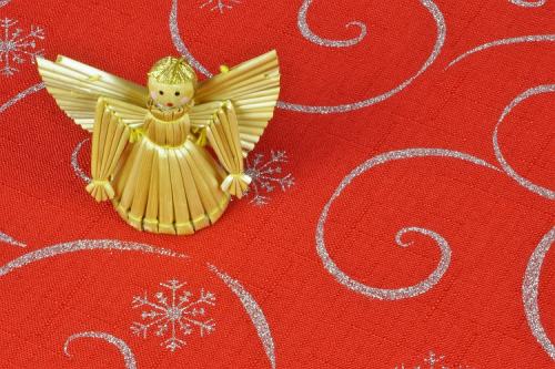 Vianočný obrus ECONOMY - Vločka