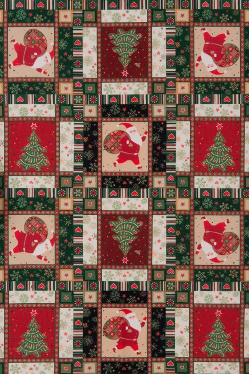 Vianočný záves - Santa