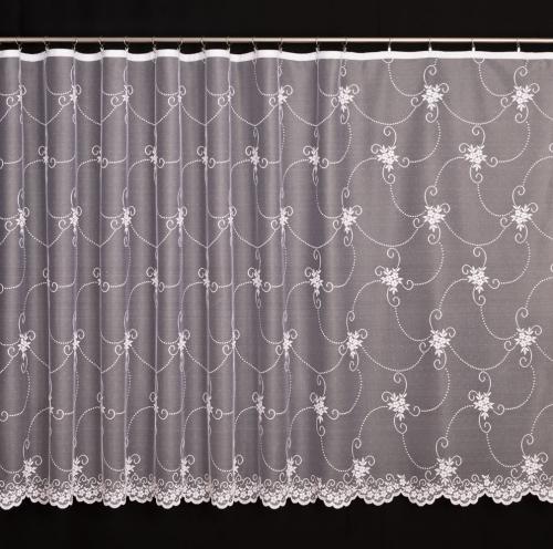 Záclona - 4310 biela aj krémova