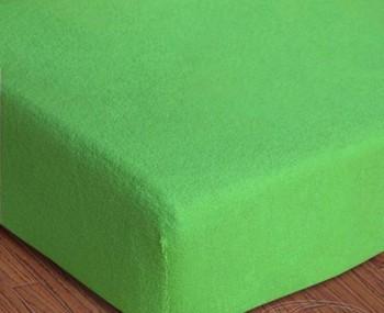 Ochraná plachta frote - svetlo zelená